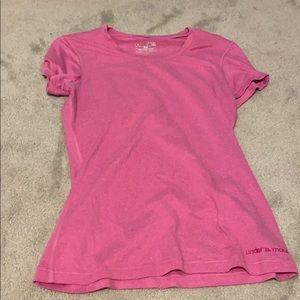Short sleeve under armor pink tee